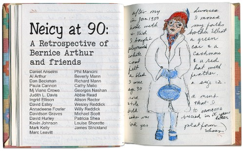 Bernice Arthur, Anecdotes and Illustrations of My Favorite Clothes and Not So Favorite (detail) 1991-2002